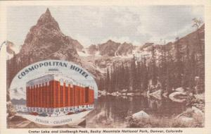 Cosmopolitan Hotel, Crater Lake and Lindbergh Peak, Rocky Mountain National P...