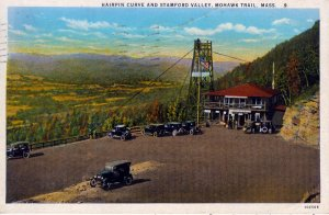 [ American Art ] US Massachusetts Mohawk Trail - Hairpin Curve And Stamford