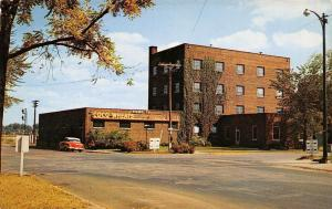 Warsaw Indiana~Little Crow Milling Co~Coco Wheats Factory~1950s Car~Postcard
