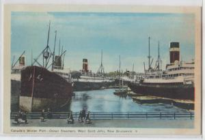 Port, Ocean Steamers, Saint John NB
