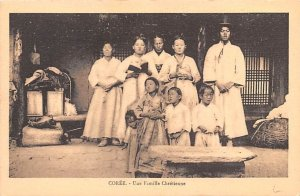 Une Famille Chretienne Coree Unused