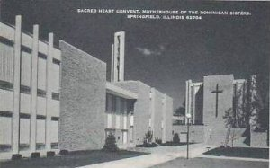 Illinois Springfield Sacred Heart Convent Motherhouse of The Dominican Sister...