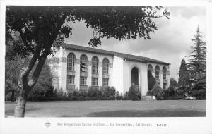California 1940s Frasher San Bernardino Valley College RPPC Photo Postcard 1789
