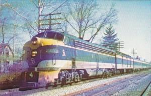 Trains Chesapeake & Ohio Locomotive No 4007 At St Matthews Kentucky