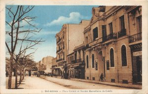 Lot120 bel abbes Place Carnot and Marseille credit society algeria