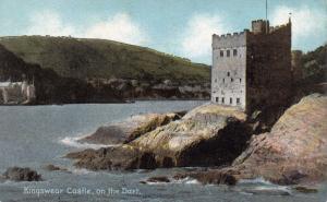 Vintage Postcard Kingswear Castle on the River Dart, Devon #K