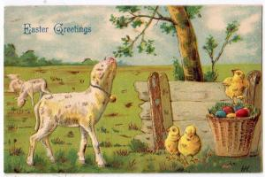 Easter - Lamb and Chicks