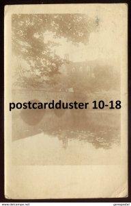 dc1765 - Postmark GERMANY Altmittweida 1926 Bridge View. Real Photo Postcard