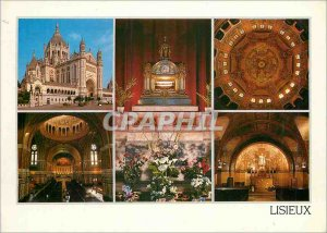 Modern Postcard Lisieux Basilica