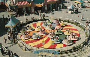 DISNEYLAND , 1950-60s ; Mad Hatter's Tea Party Ride