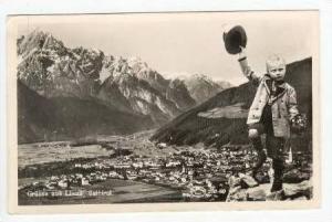 RP  Grusse aus Lienz, Osttirol, Austria, PU 1955
