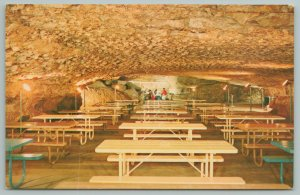 Mammoth Cave National Park Kentucky~Snowball Room Caves~Vintage Postcard