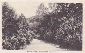 Missouri South West City Shady Drive Albertype