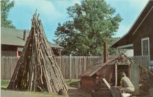 Adirondack Museum, Blue Mountain Lake, N.Y. chrome unused...