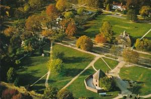 Virginia Williamsburg Aerial View Market Square