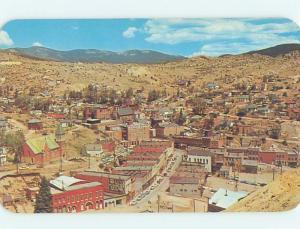 Pre-1980 PANORAMIC VIEW Central City - Near Golden & Denver Colorado CO i0939