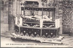 Processional Statue of Christ  Montfort France
