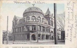 Connecticut Bridgeport Scientific Building