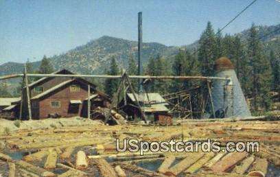 Lumber Mill Kernville CA Unused