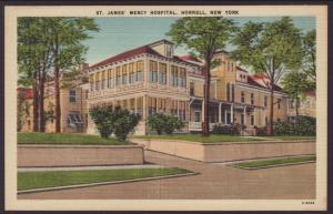 St James Mercy Hospital,Hornell,NY Postcard