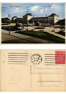 CPA AK Croatia Zagreb Kolodvor (571659)