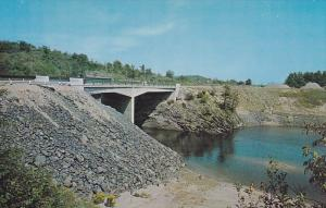 Trans-Canada Highway 17 Bridge crossing the Sable River at Massey,  Ontario, ...
