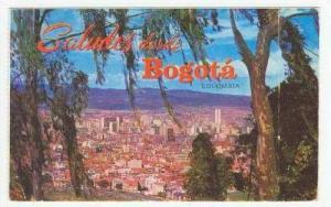 Bogota-Colombia PU 1959 Panoramica de Bogota