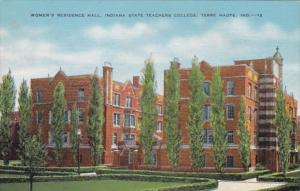 Indiana Terre Haute Women's Residence Hall Indiana State Teacgers College