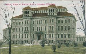 Smith College Of Applied Science Syracuse University Sracuse New York 1915