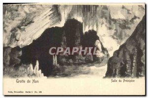 Old Postcard Cave Caves of Han Hall precipice