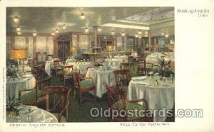 Kaiserin Auguste Victoria, Ritz's Cariton-Restaurant Ship Ships, Interiors, P...