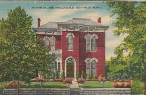 INDIANAPOLIS, Indiana, 30-40s; Home of James Whitcomb Riley