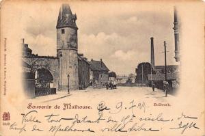 France Souvenir de Mulhouse 1899 postcard