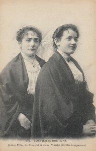 FRANCE, 00-10s ; Jeunes Filles de Plouaret , Costumes Bretons