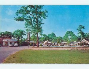 Unused Pre-1980 MOTEL SCENE Hardeeville South Carolina SC HJ9827