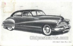1946 Buick Super Four Door Automotive, Auto, Car 1950 light wear stain on car...