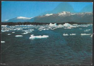 1993 Chile, Laguna San Rafael, mailed to USA