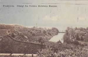 Fredericia. Udsight fra Volden Holstens Bastion , Denmark , PU-1911