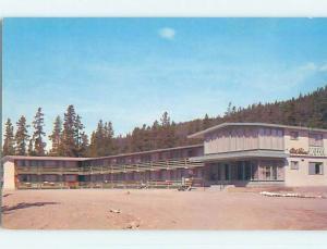 Unused Pre-1980 MT. ROBSON MOTEL Jasper Alberta AB o0450