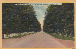 REHOBOTH BEACH , Delaware, 30-40s , Columbia Avenue
