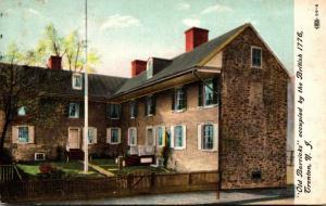 New Jersey Trenton The Old Barracks 1908