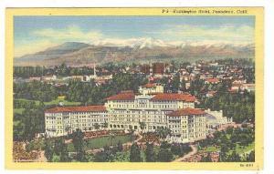 Air view, Huntington Hotel,  Pasadena,  California,  30-40s
