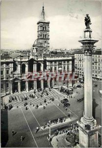 Postcard Modern Rome Basilica of St. Mary Major