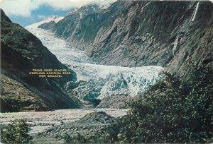New Zealand Postcard Westland National Park Franz Josef Glacier