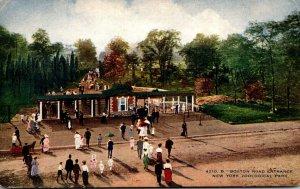 New York City Zoological Park Boston Road Entrance