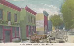APPLE RIVER , Illinois, 00-10s ; Business Houses