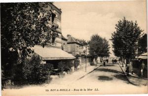 CPA RIVA-BELLA - Rue de la Mer (271942)