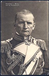 Georg Alexander von Müller Naval Cabinet Chief unused c1915