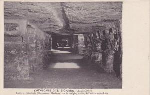 SIRACUSA, Sicilia, Italy, 1900-1910's; Catacombe Di S. Giovanni