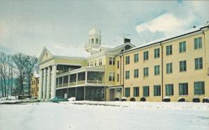 Winter Scene, Lambuth Inn, LAKE JUNALUSKA, North Carolina, 40-60´